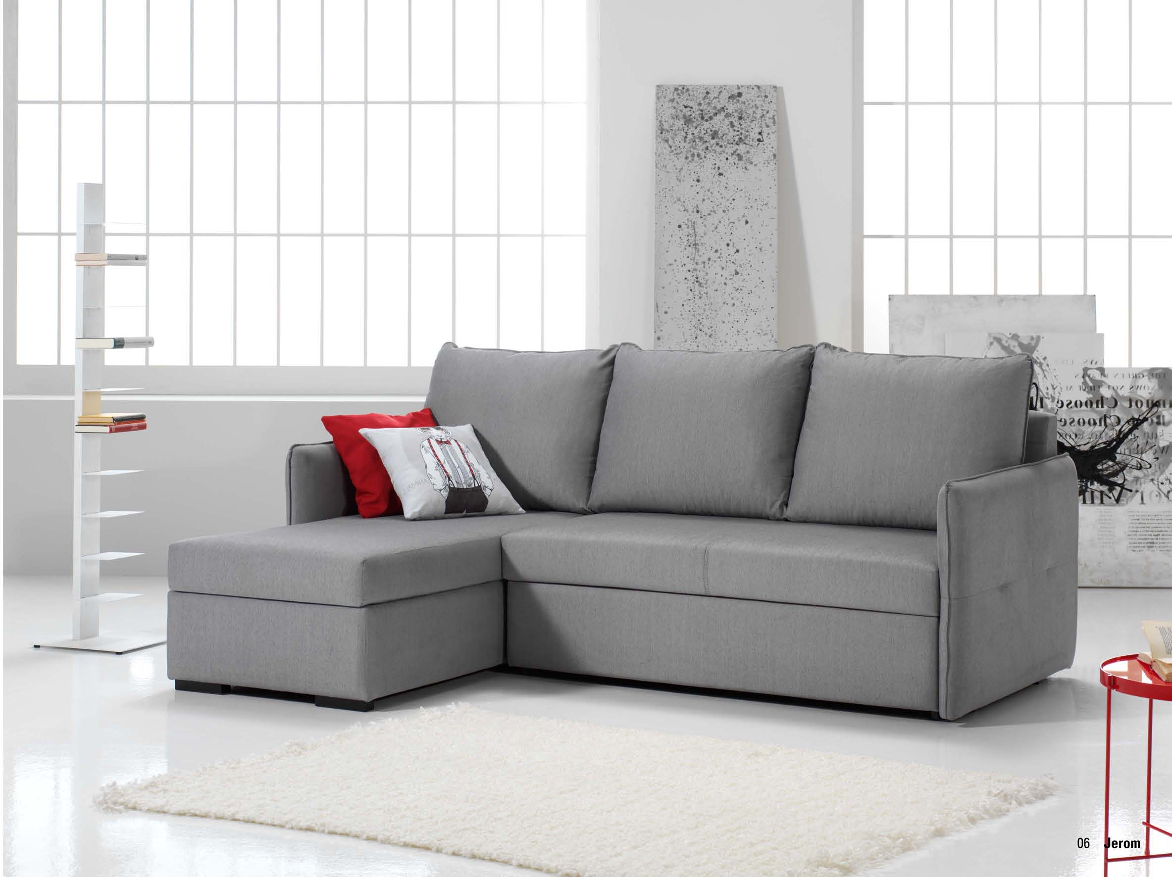 Sof cama chaisse longue con arc n muebles adama tienda for Sofa con chaise longue