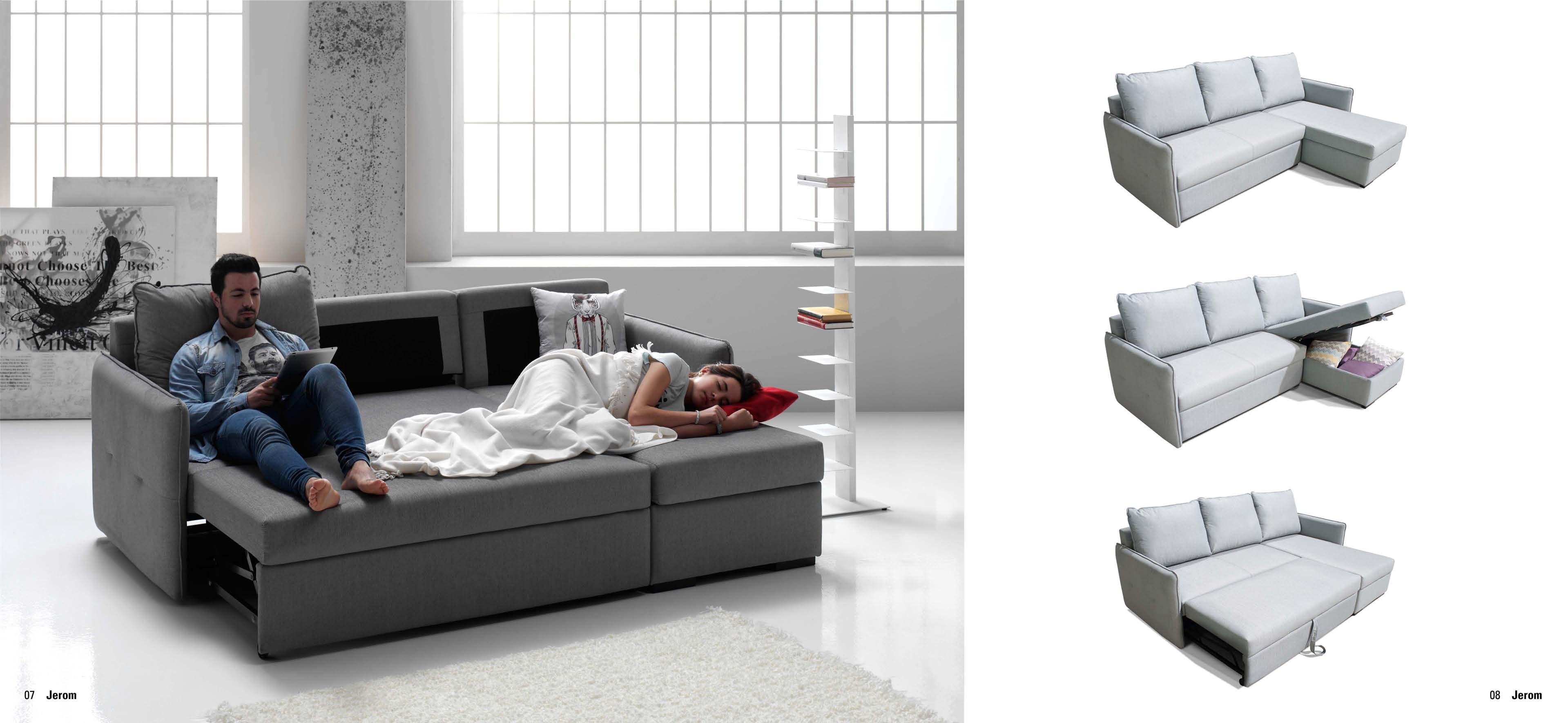 Sof cama chaisse longue con arc n muebles adama tienda - Camas con arcon ...