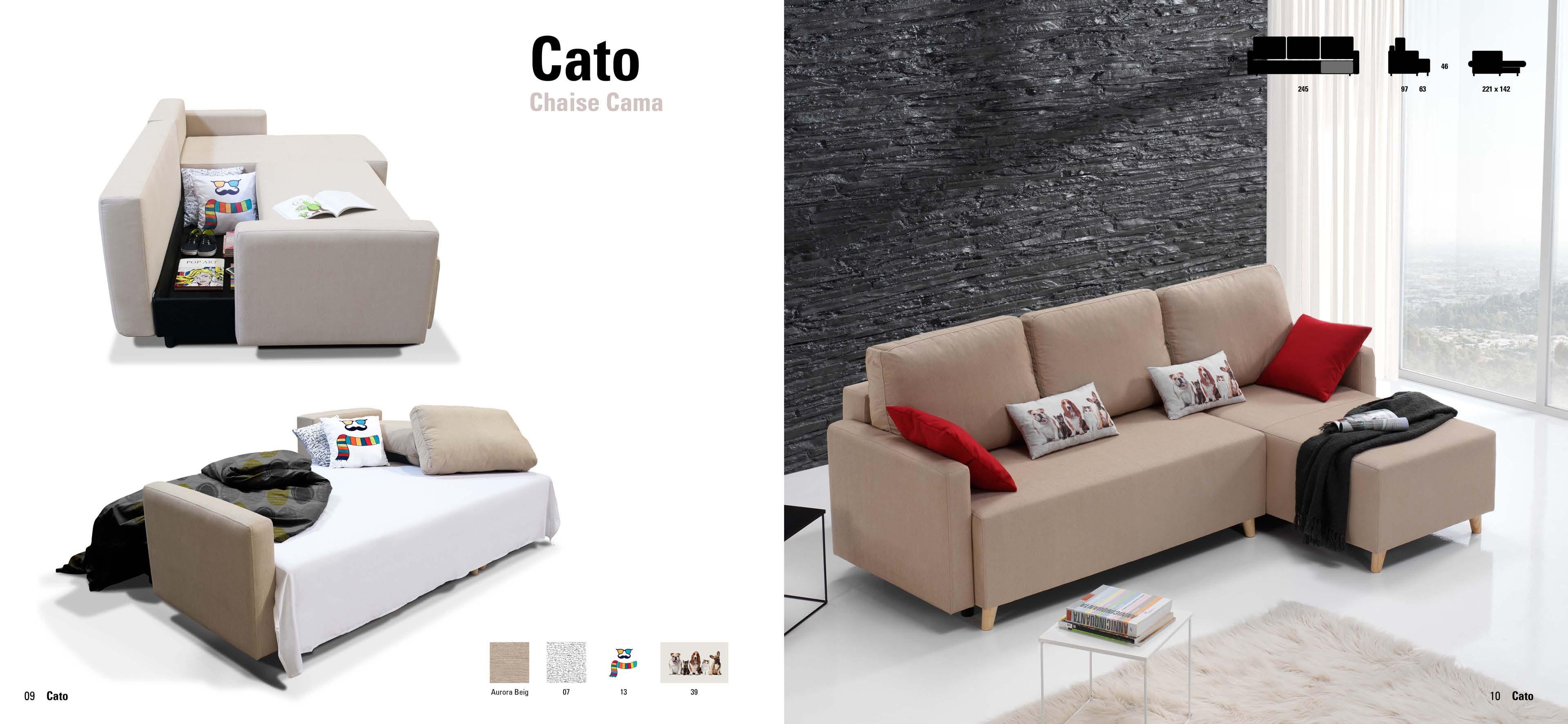 Chaise longue sof cama muebles adama tienda de muebles for Chaise longue sofa cama