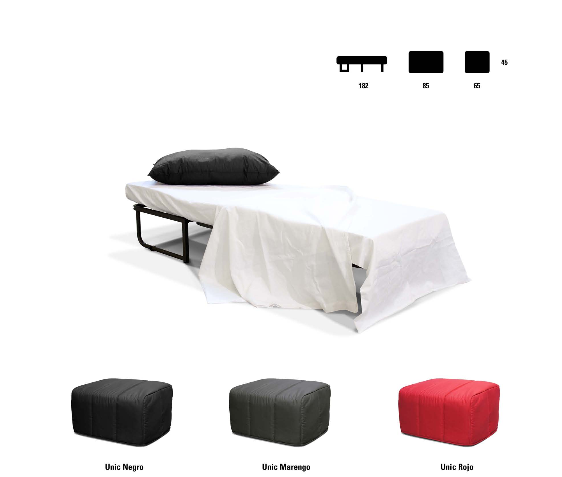Sof cama puff puff convertible en cama muebles for Sofa convertible en cama