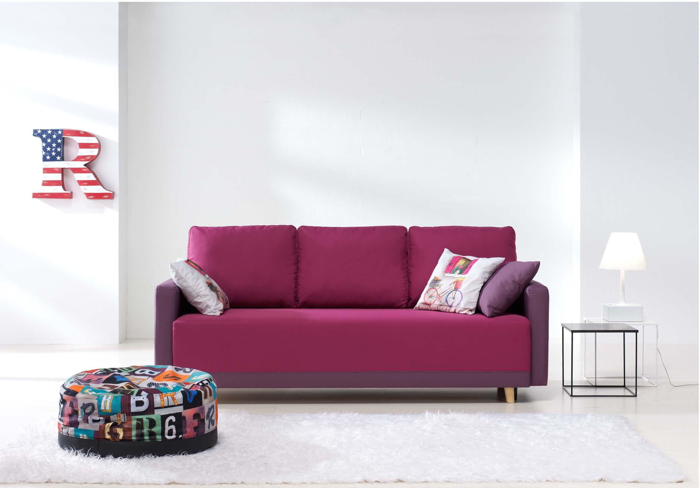 Sof cama estilo juvenil muebles adama tienda de muebles for Sofa cama para habitacion juvenil