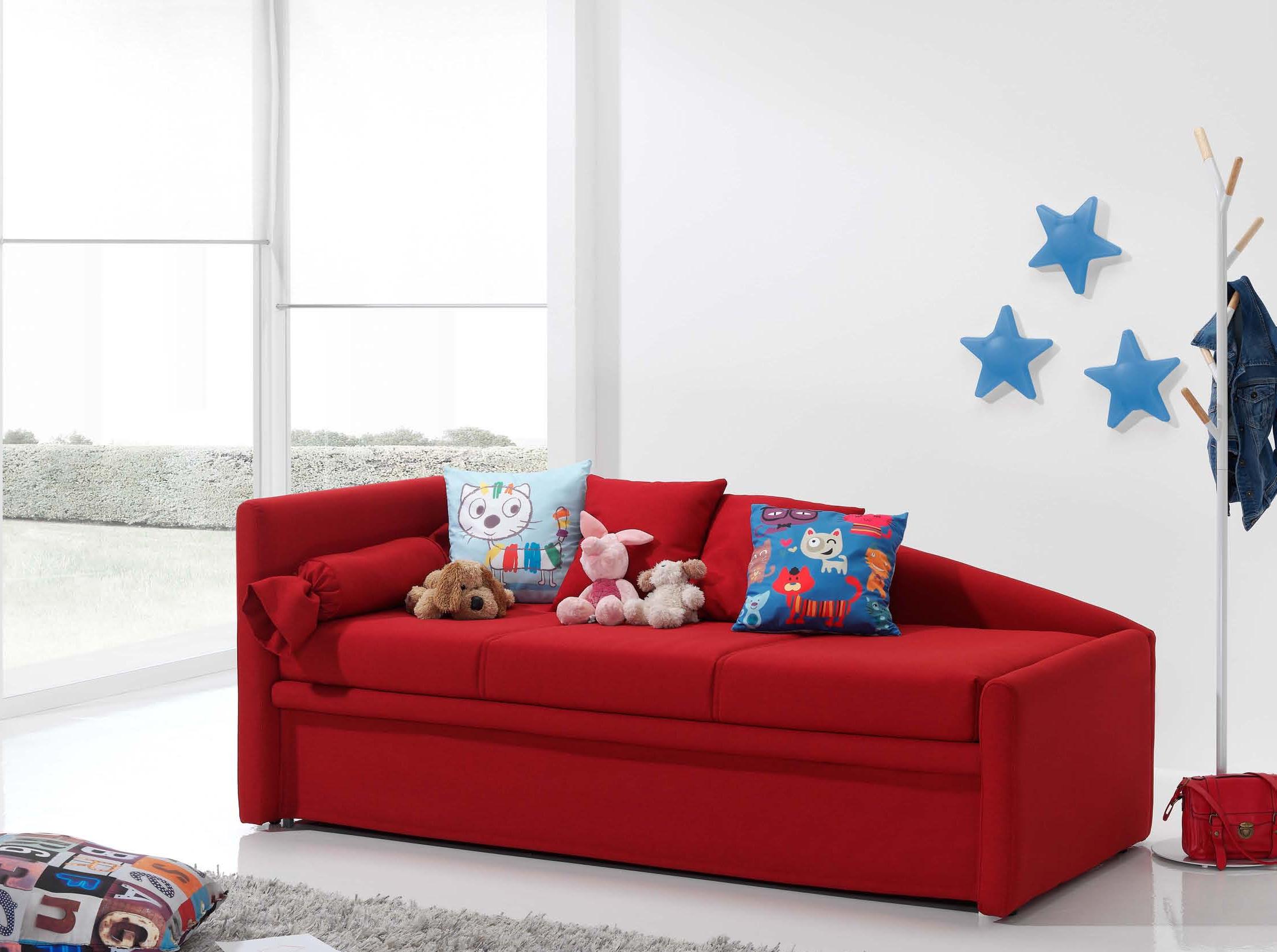 Sof cama estilo moderno muebles adama tienda de muebles for Sofa cama para habitacion juvenil