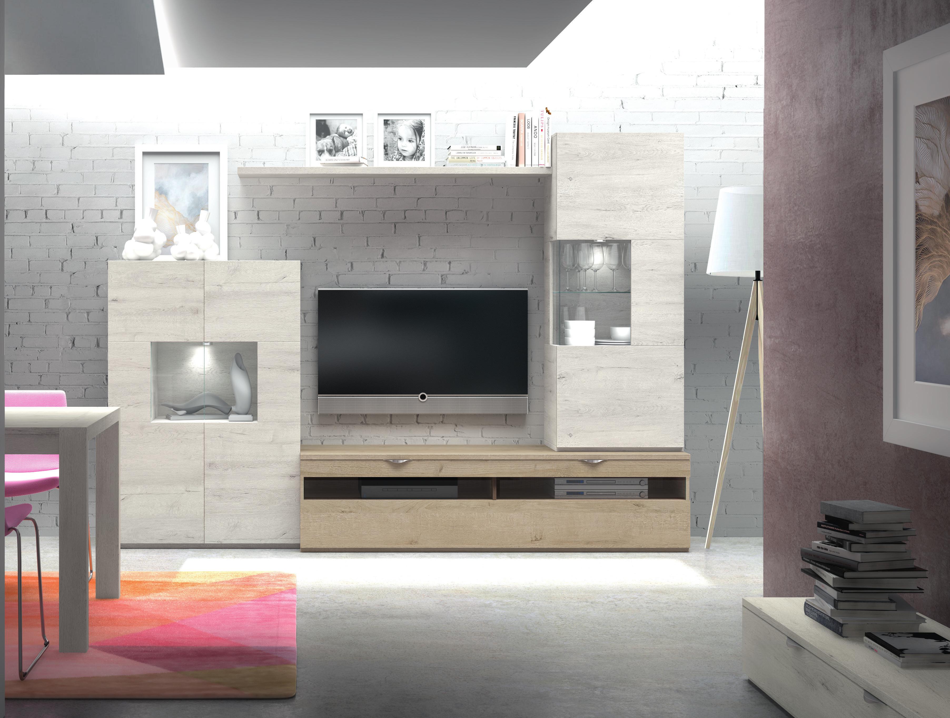 Mueble De Sal N Color Mozart Y Natural Muebles Adama Tienda De  # Muebles General Ricardos