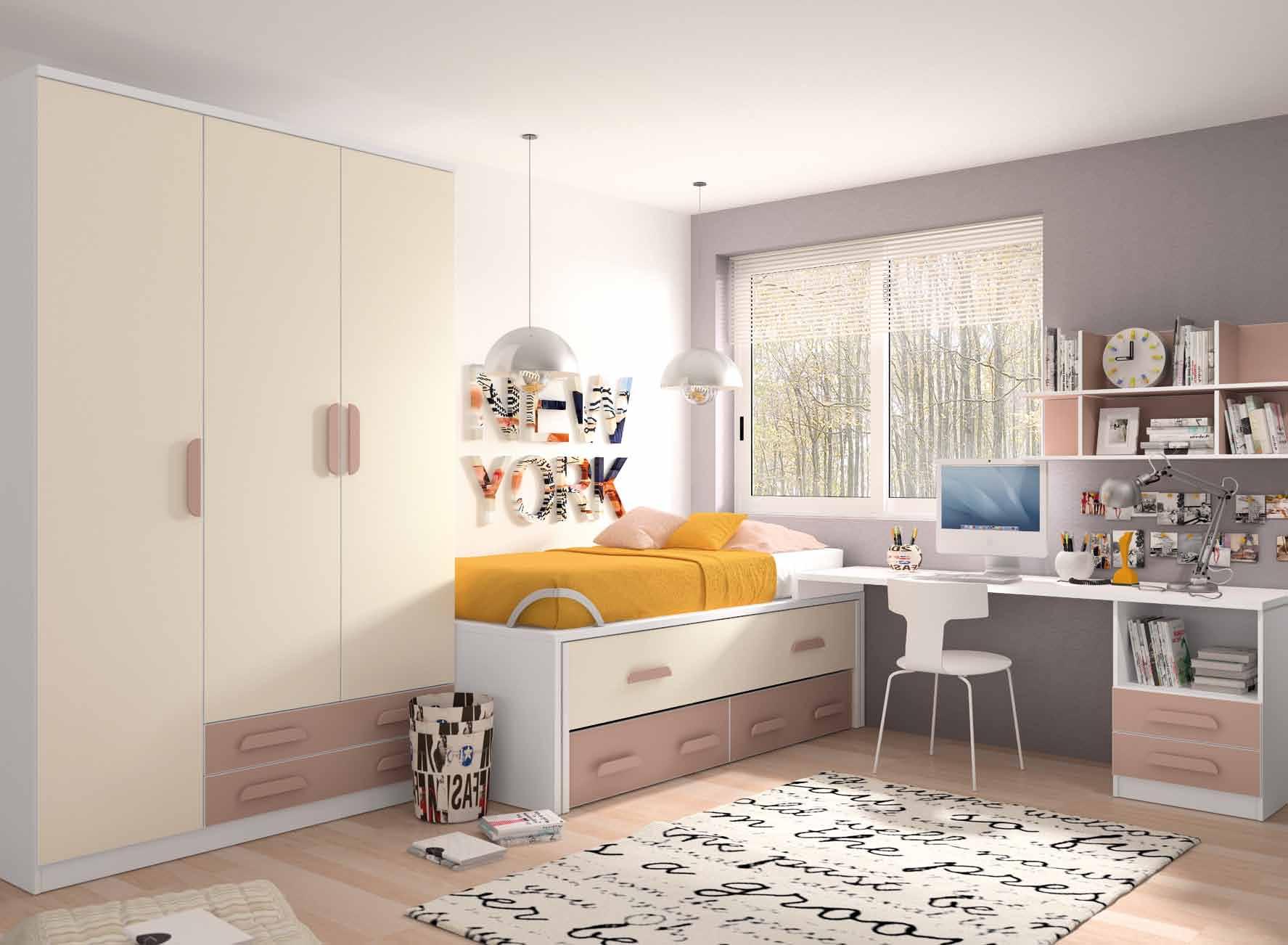 Dormiorio juvenil completo - Muebles Adama Tienda de muebles en madrid