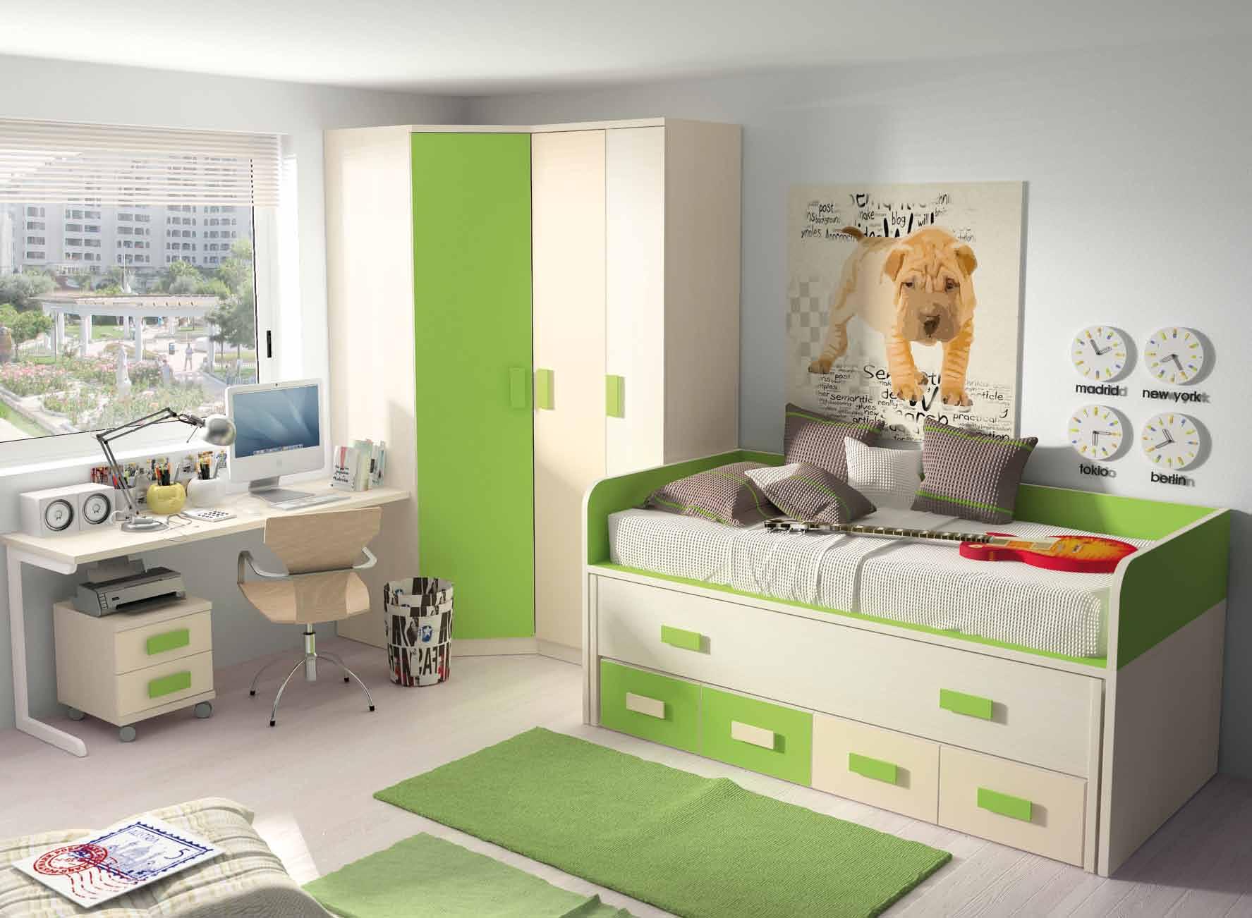 Dormitorio juvenil muebles adama tienda de muebles en madrid for Muebles de dormitorio juvenil