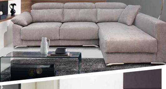 1 unique sofa chaise longue tela antimanchas sofas for Muebles adama