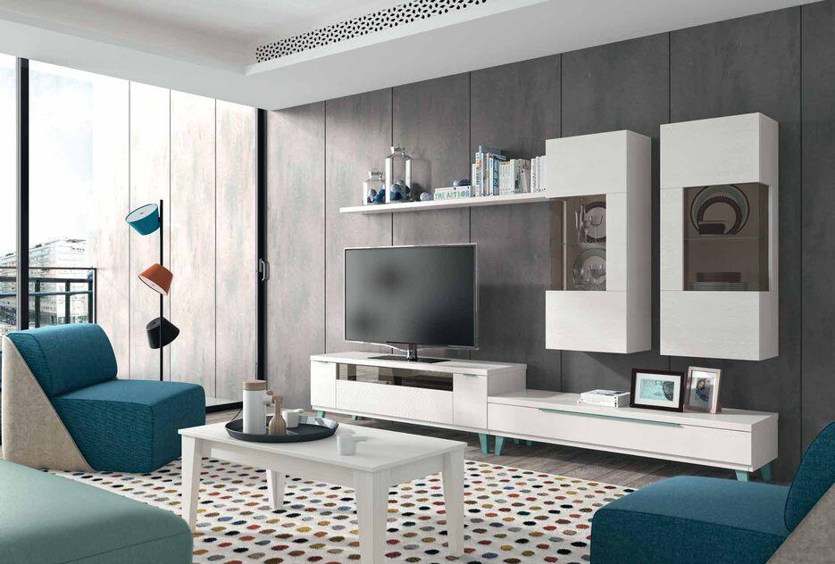 Como decorar un mueble de salon moderno salon moderno for Decorar mueble salon moderno