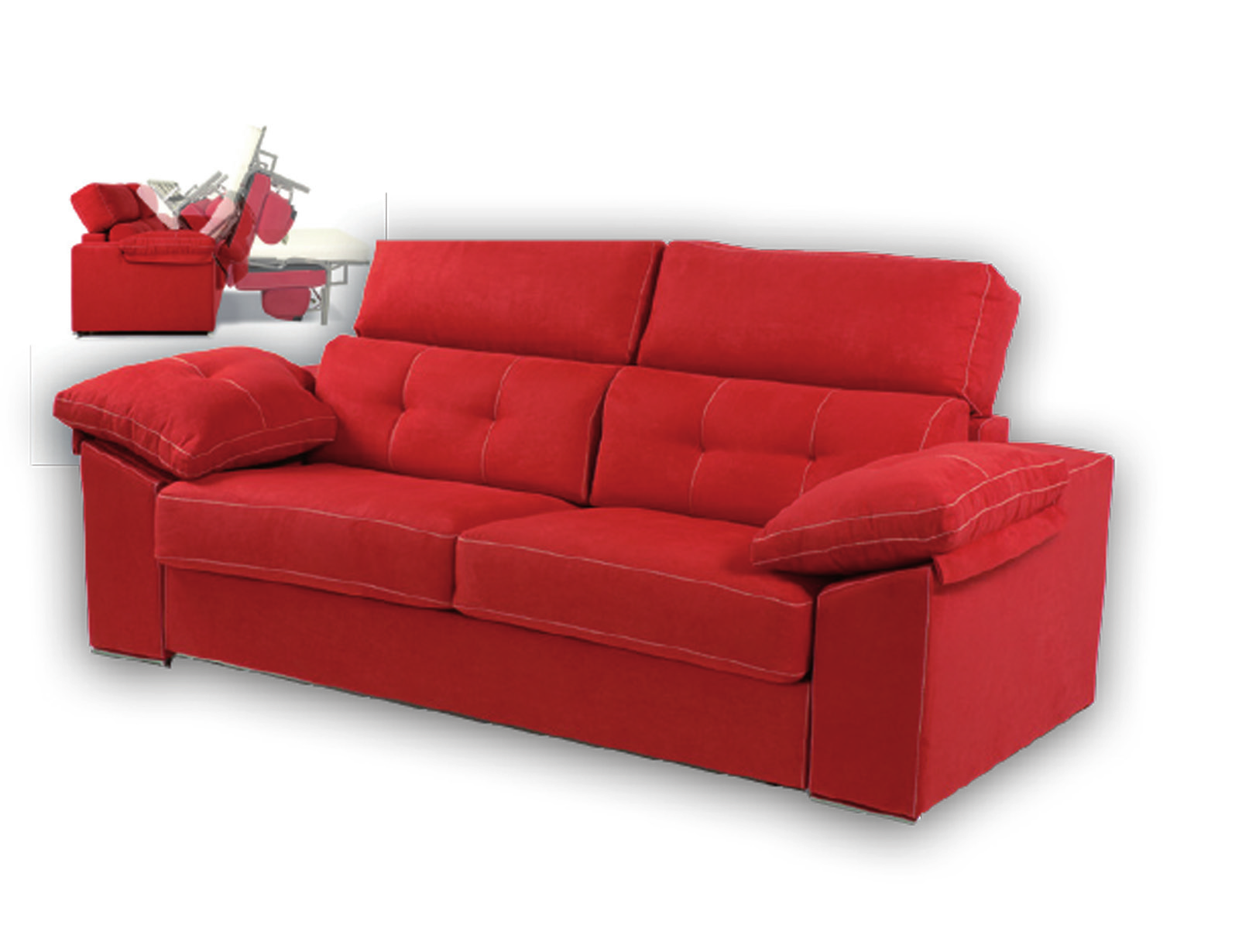 Sofa cama italiano muebles adama tienda de muebles en madrid for Sofa cama italiano