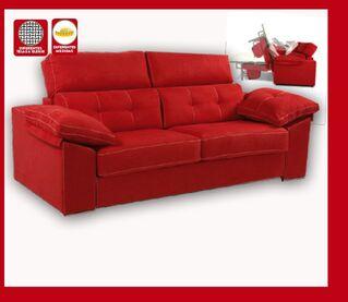 Sofá 3 plazas y sofá cama italiano