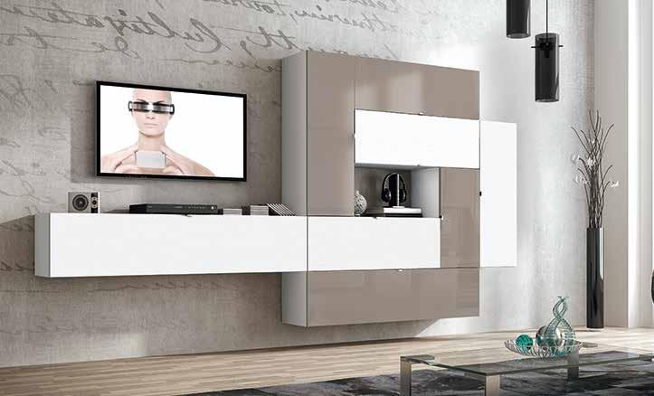 Composici n mueble de sal n muebles adama tienda de for Composicion muebles salon modernos