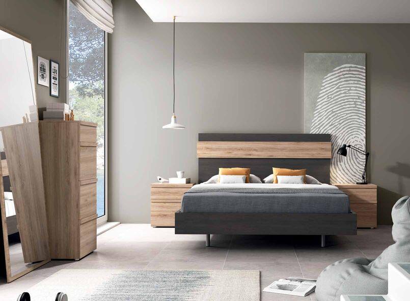 Dormitorio de matrimonio completo muebles adama tienda for Dormitorio completo