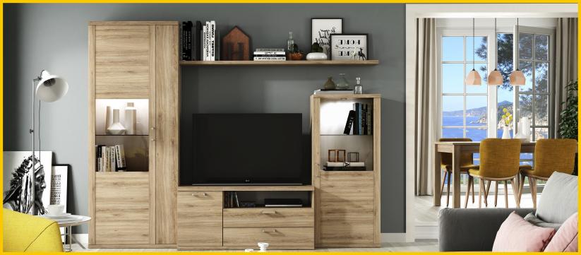 Tienda de muebles en madrid de sal n sofas dormitorios for Mueble salon 2 metros
