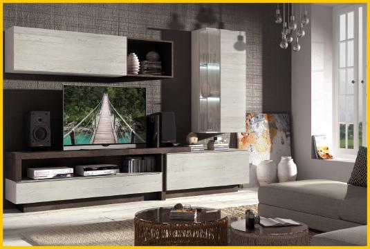 Mueble modular sal n muebles adama tienda de muebles en - Mueble salon modular ...