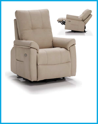Sill n relax con motor pared cero el ctrico muebles for Sillon relax madrid