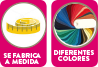Se fabrica a medida diferentes colores a elegir