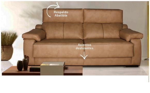 Tienda de muebles en madrid de sal n sofas dormitorios canap madrid - Sofa extensible 3 plazas ...