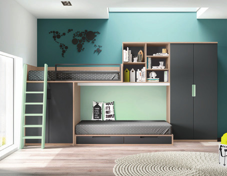 Dormitorio juvenil completo muebles adama tienda de for Dormitorios completos