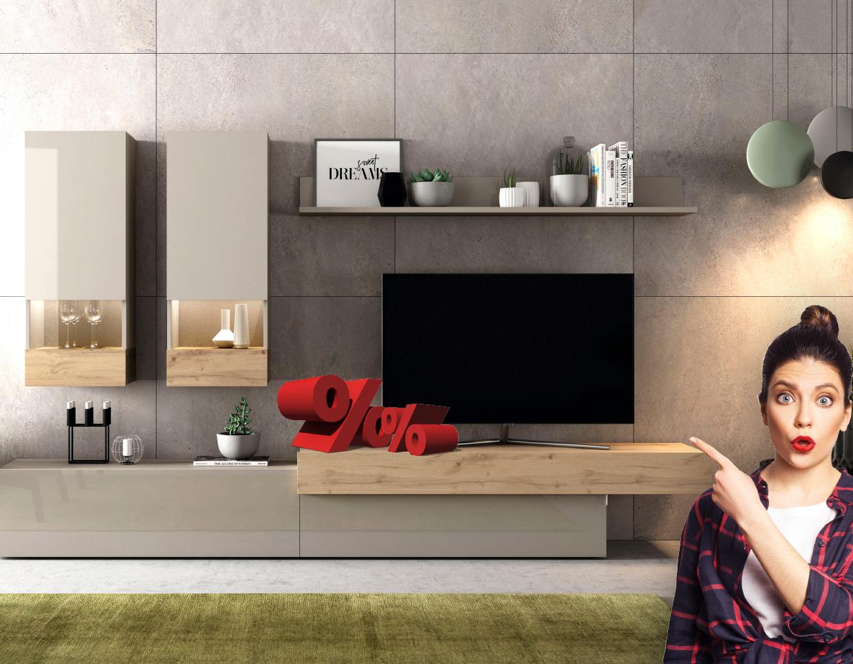 Composición mueble de salón