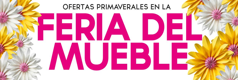Rebajas de marzo 2019 Feria del mueble