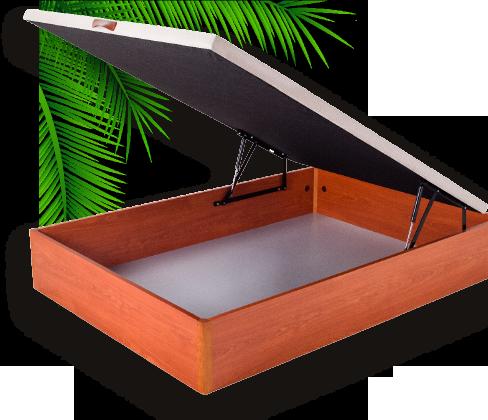 Canape de madera abatible de 135x190 cm