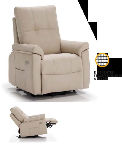 sofá eléctrico