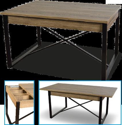 mesa-comedor-madera-y-pata-metaliza