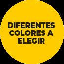 diferentes colores a elegir